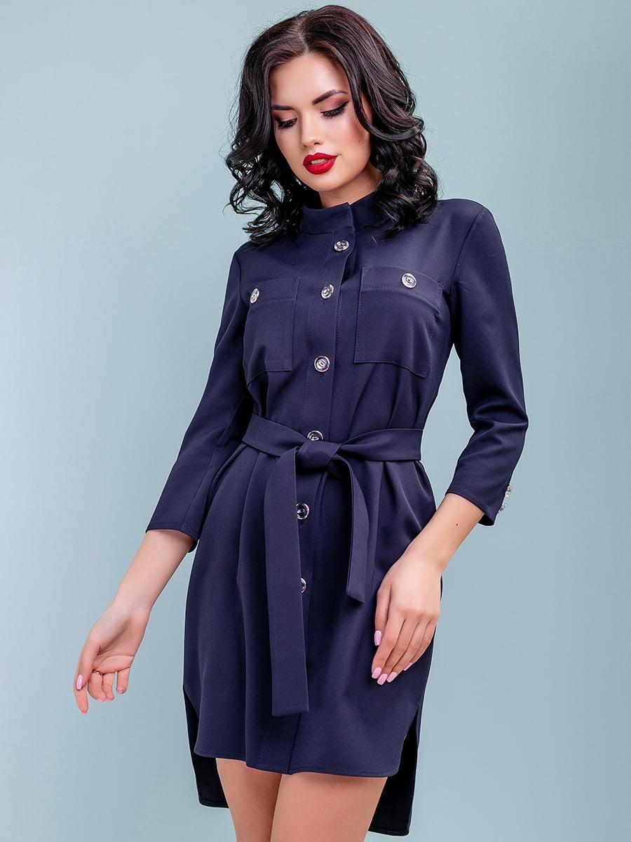 Сукня темно-синя | 4983756