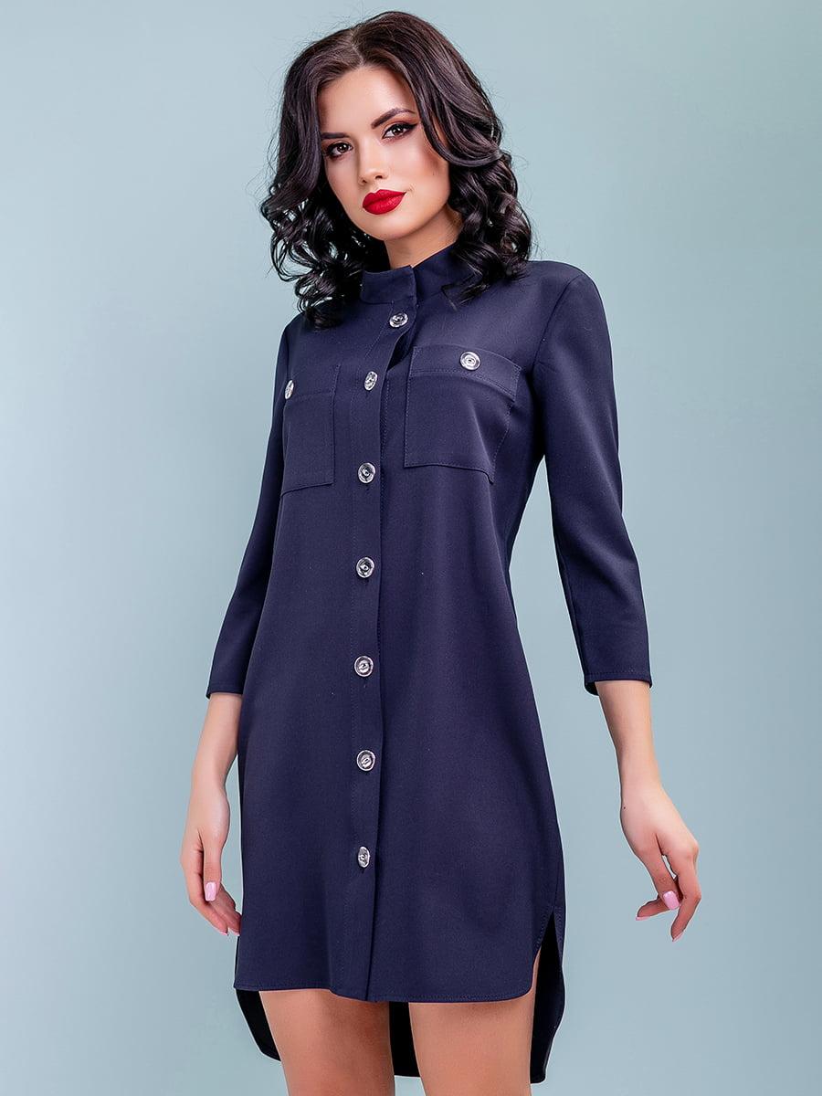 Сукня темно-синя | 4983756 | фото 2