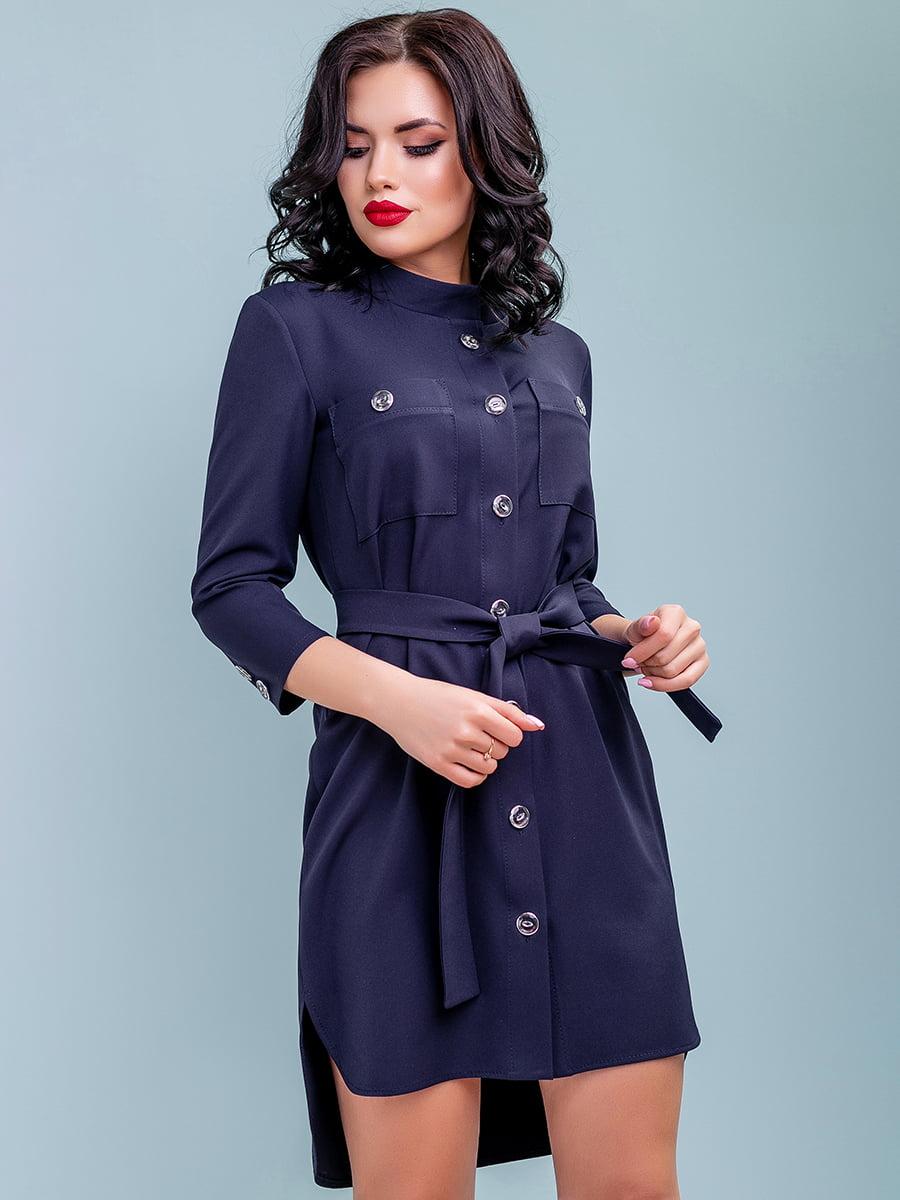 Сукня темно-синя | 4983756 | фото 3