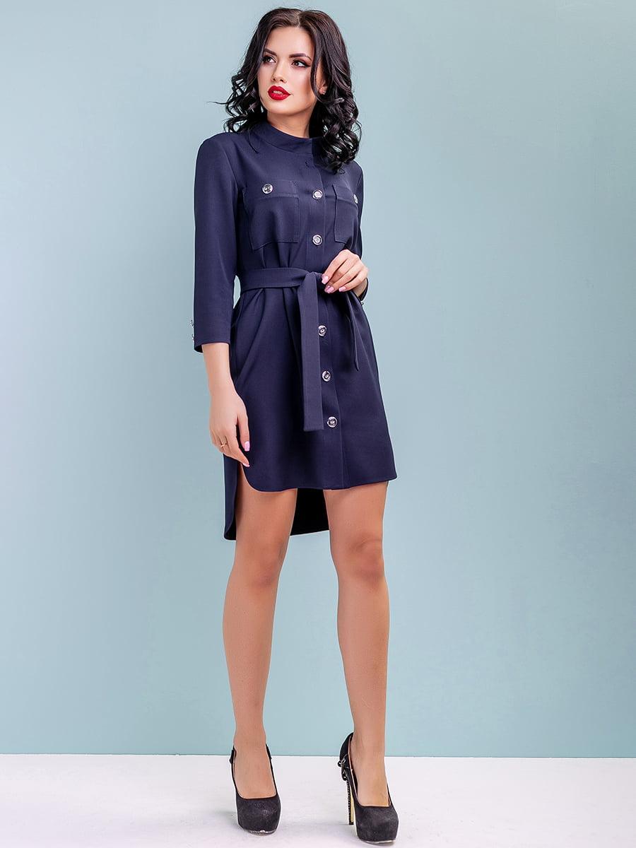 Сукня темно-синя | 4983756 | фото 5