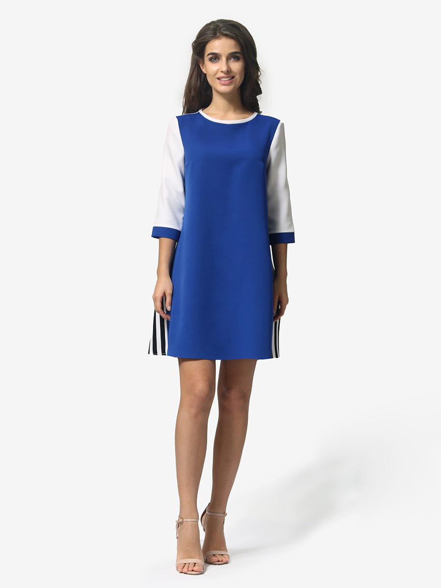 Сукня кольору електрик | 4983763