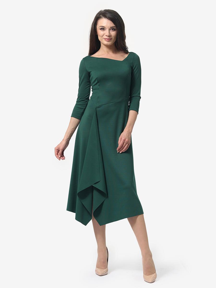 Платье зеленое   4983804