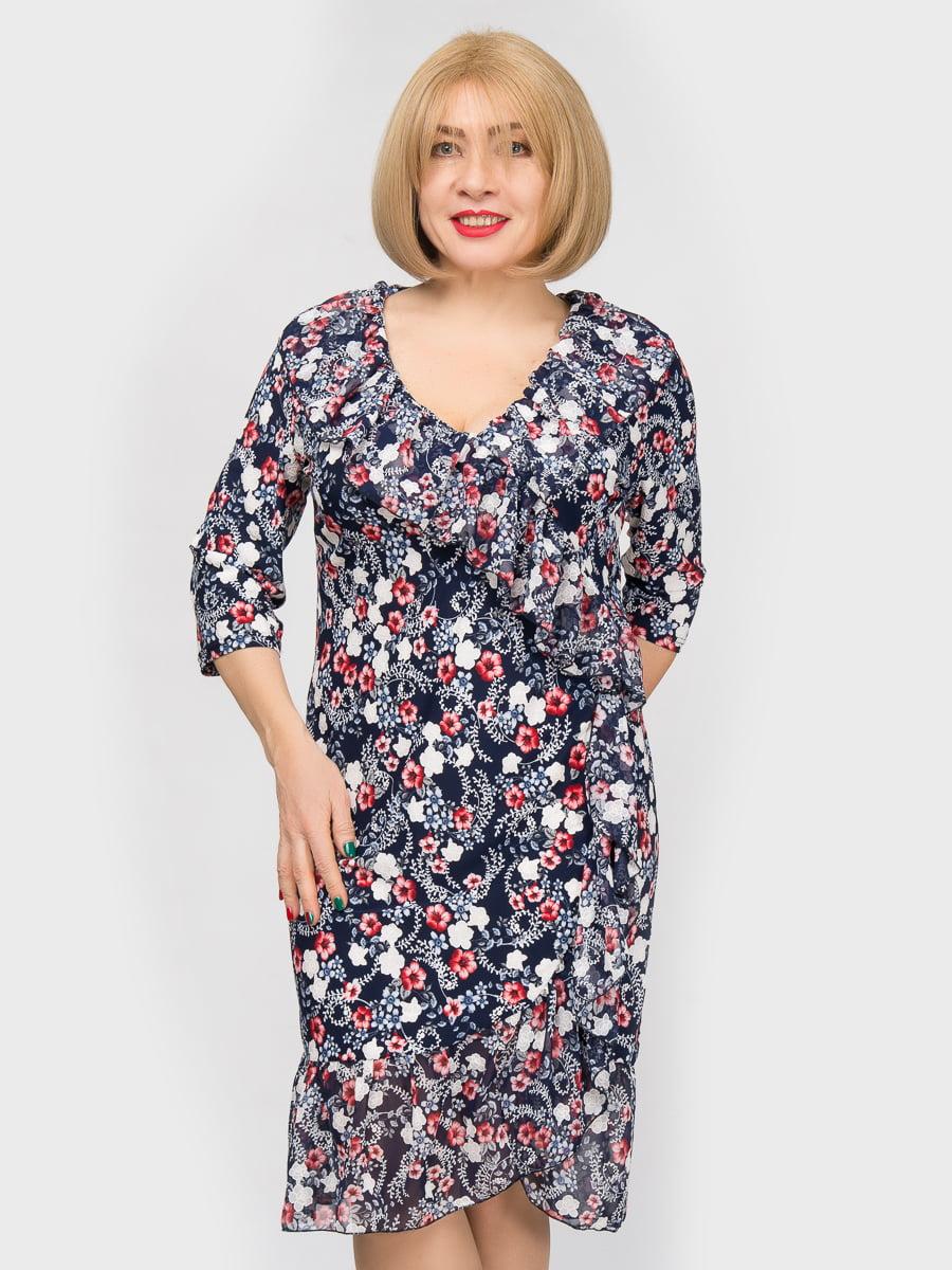 Платье в принт | 4982855