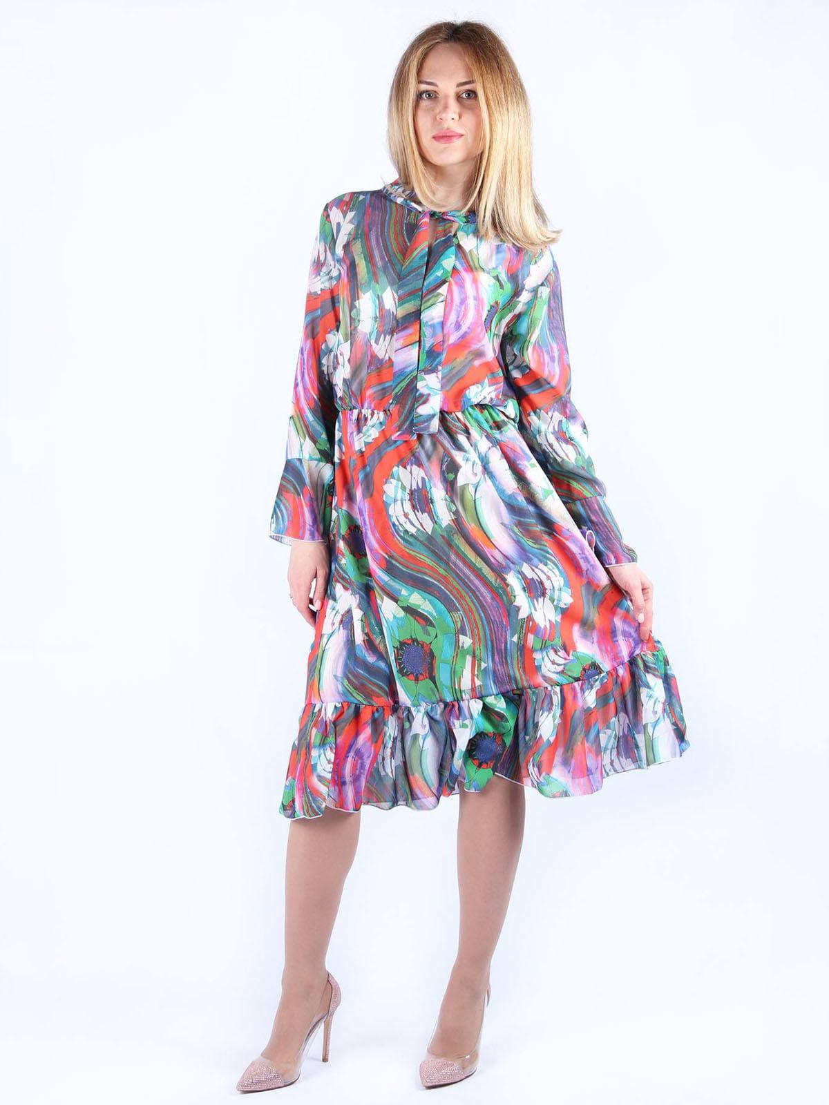 Сукня в принт | 4984048 | фото 3