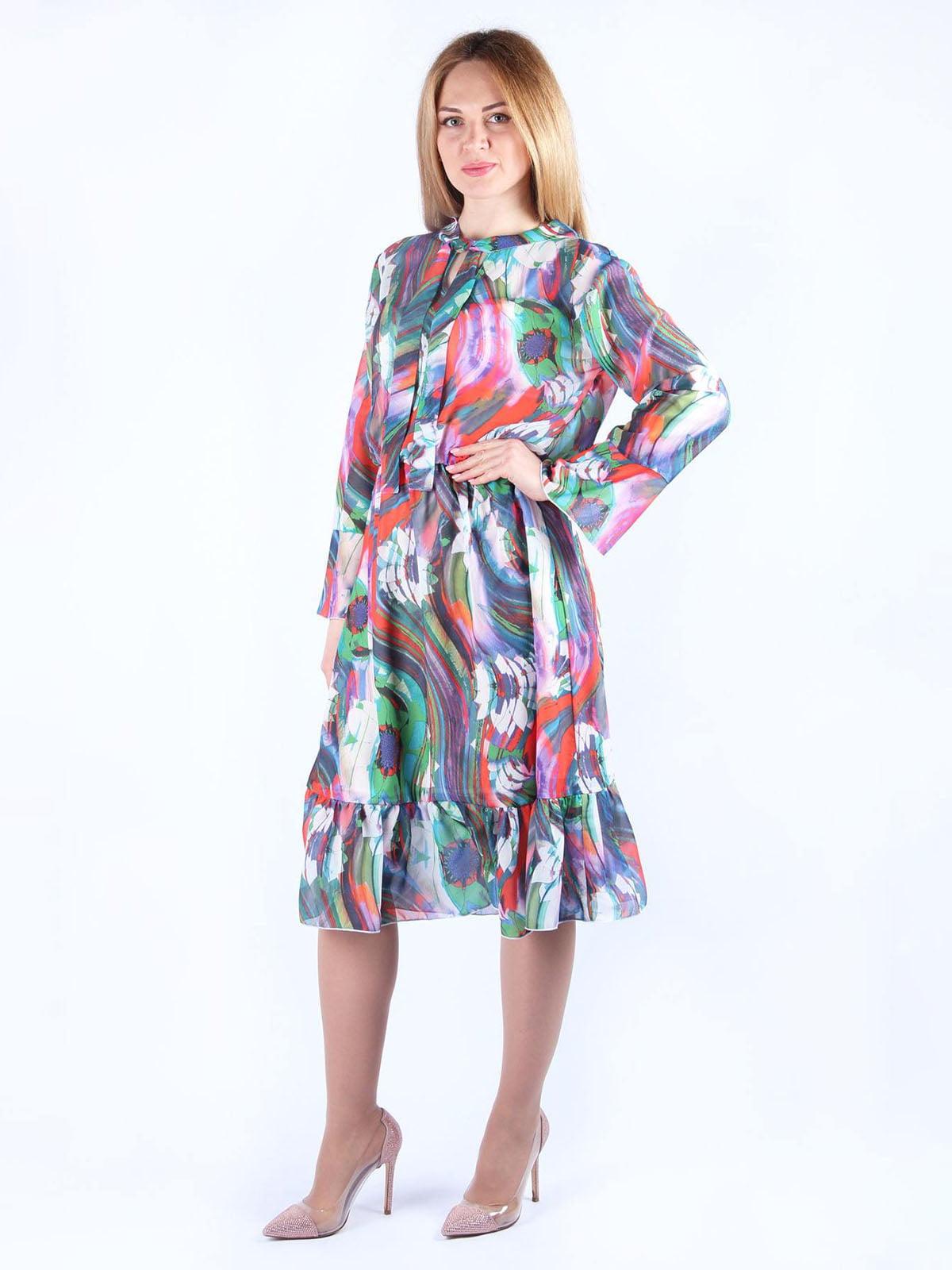 Сукня в принт | 4984048 | фото 4