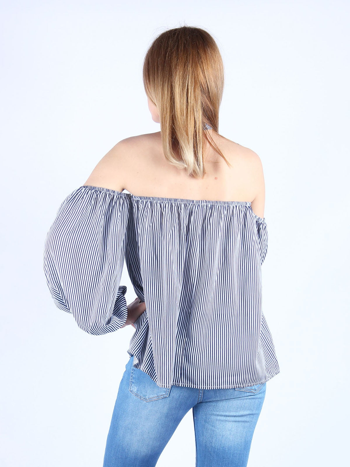 Блуза в смужку | 4984050 | фото 2