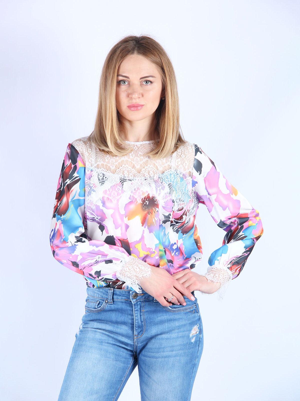 Блуза в принт | 4984051