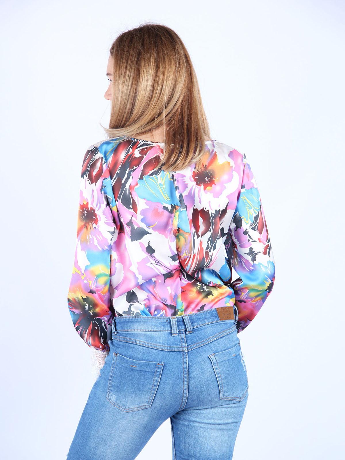 Блуза в принт | 4984051 | фото 2