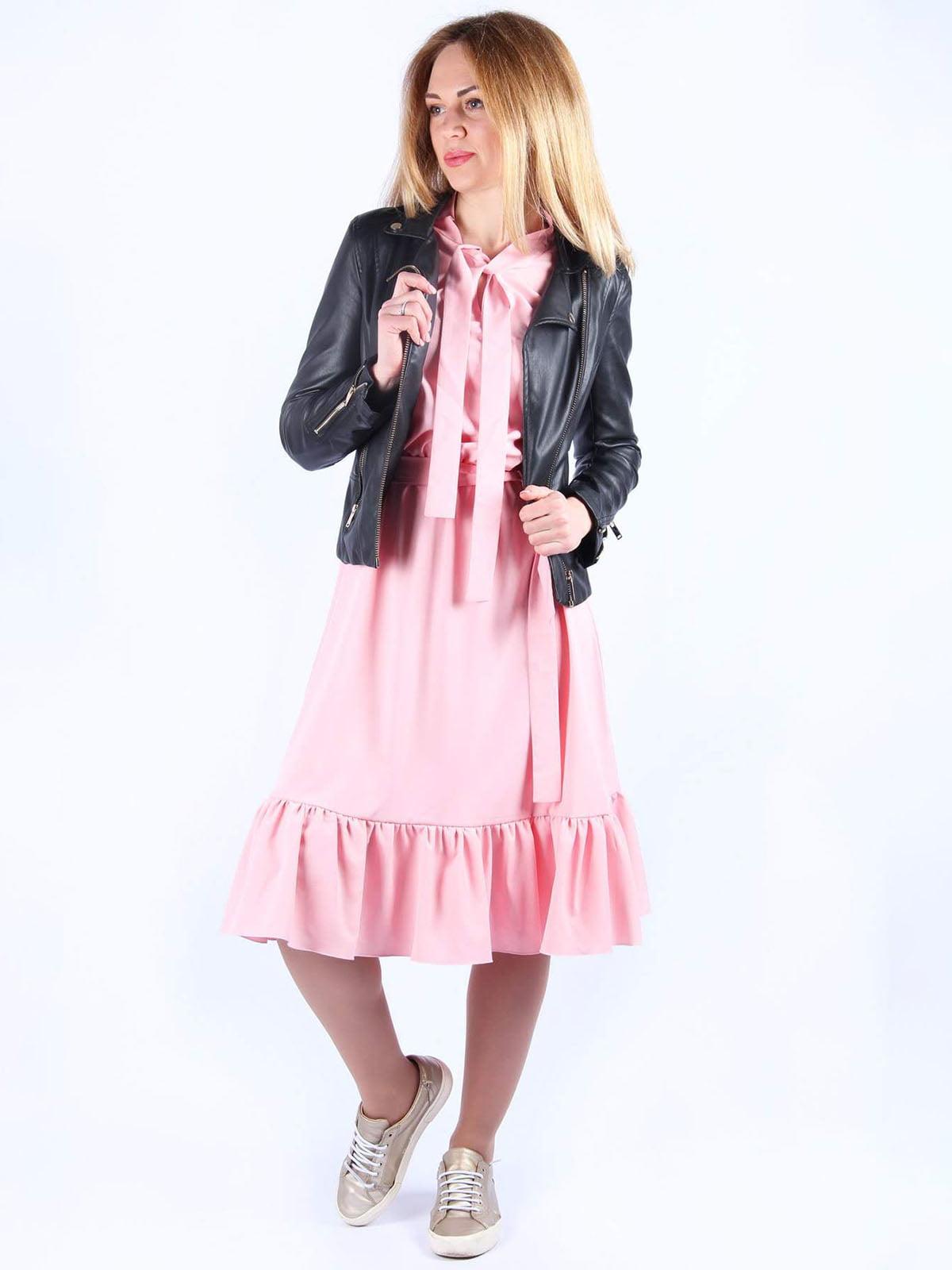 Платье розовое | 4984071