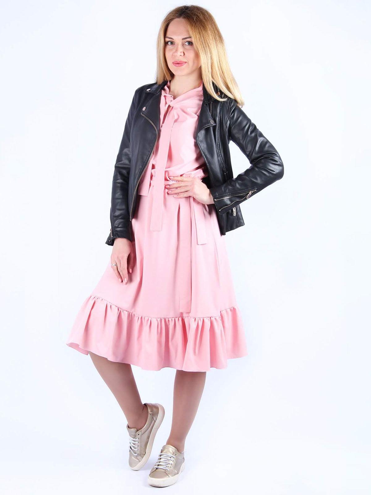 Платье розовое | 4984071 | фото 2
