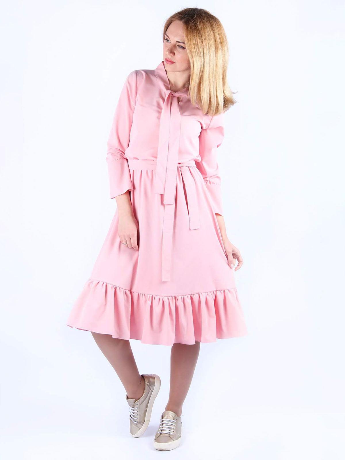 Платье розовое | 4984071 | фото 3