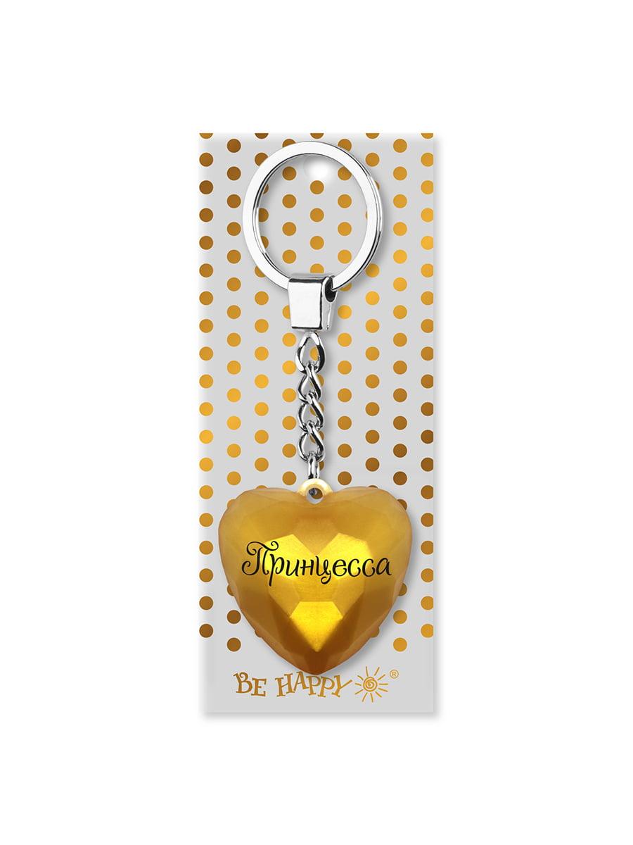 Брелок-сердце с надписью «Принцесса»   4984737