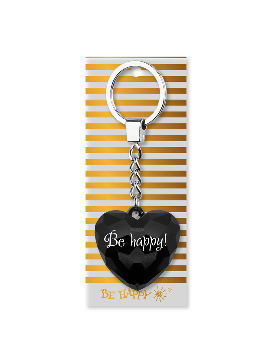 Брелок-сердце с надписью Be happy   4984738