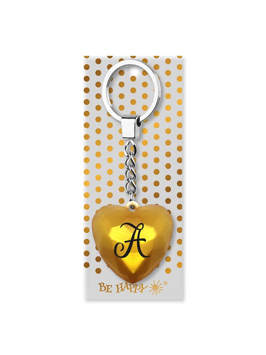Брелок-серце з написом «А» | 4984746