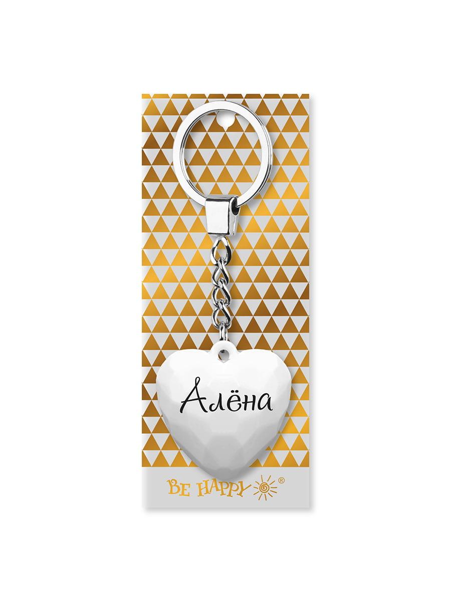 Брелок-сердце с надписью «Алёна» | 4984748