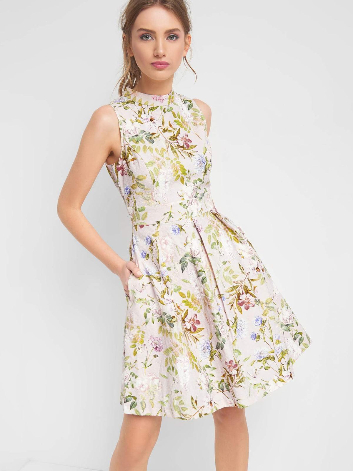 Сукня в квітковий принт | 4985887