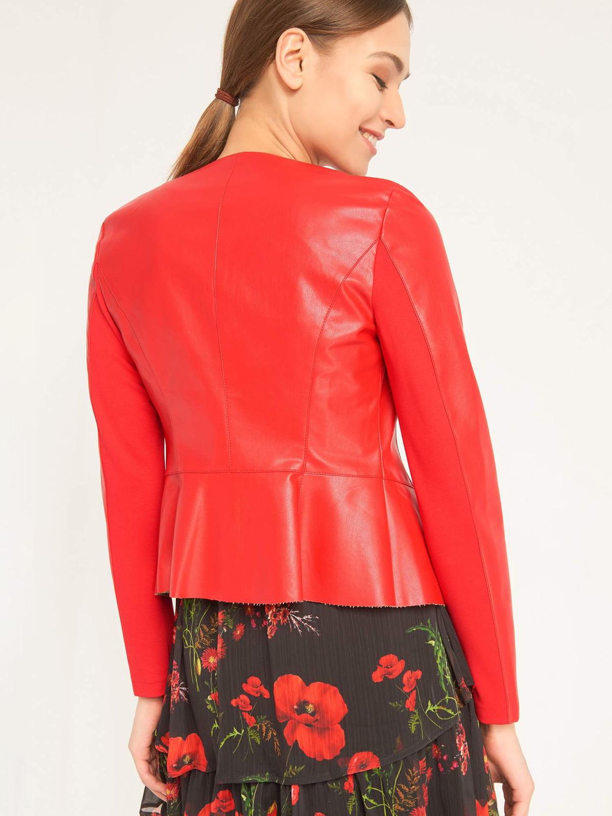 Куртка красная | 4985912 | фото 2