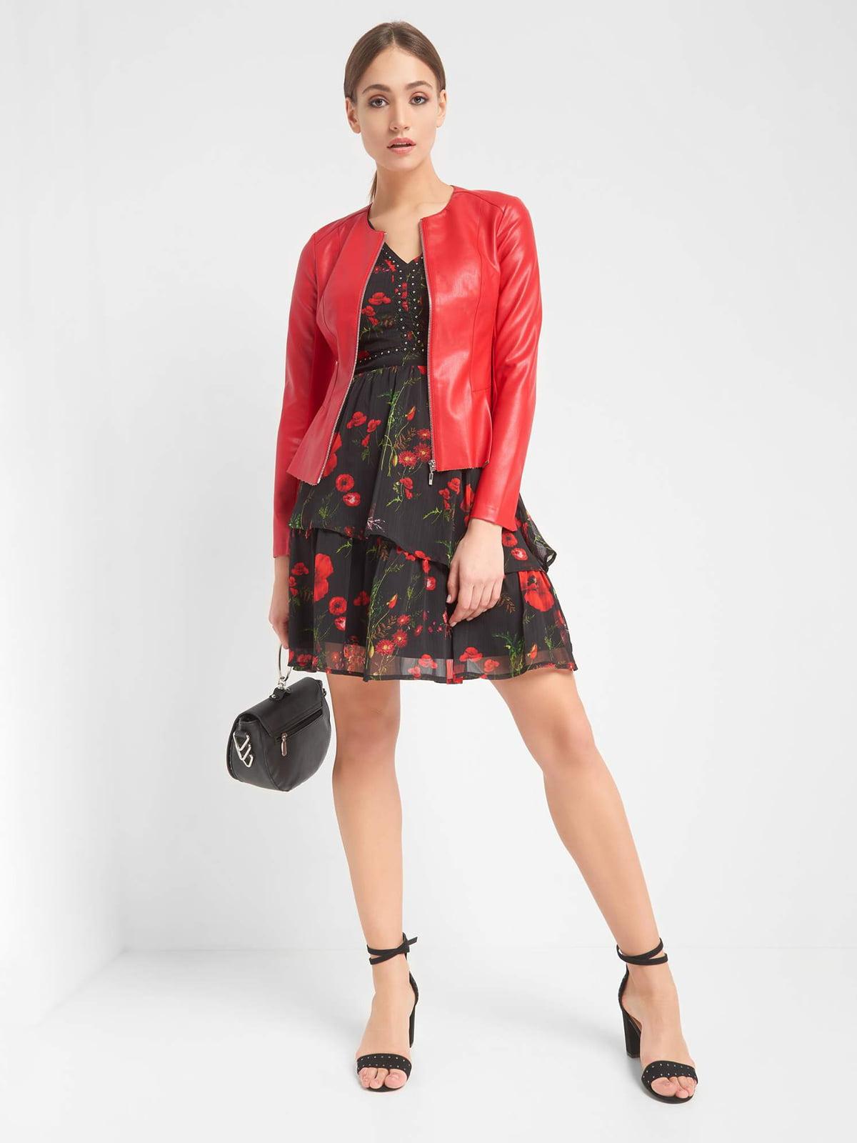 Куртка красная | 4985912 | фото 4