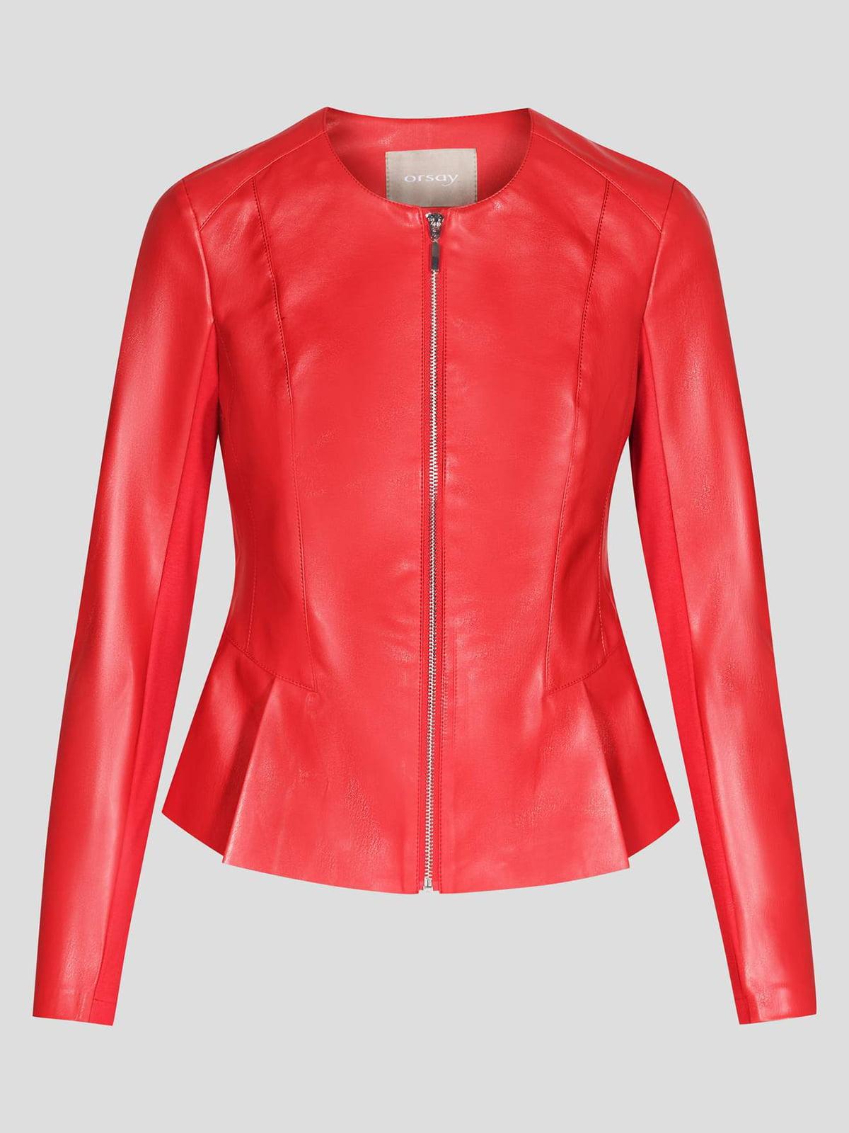 Куртка красная | 4985912 | фото 5