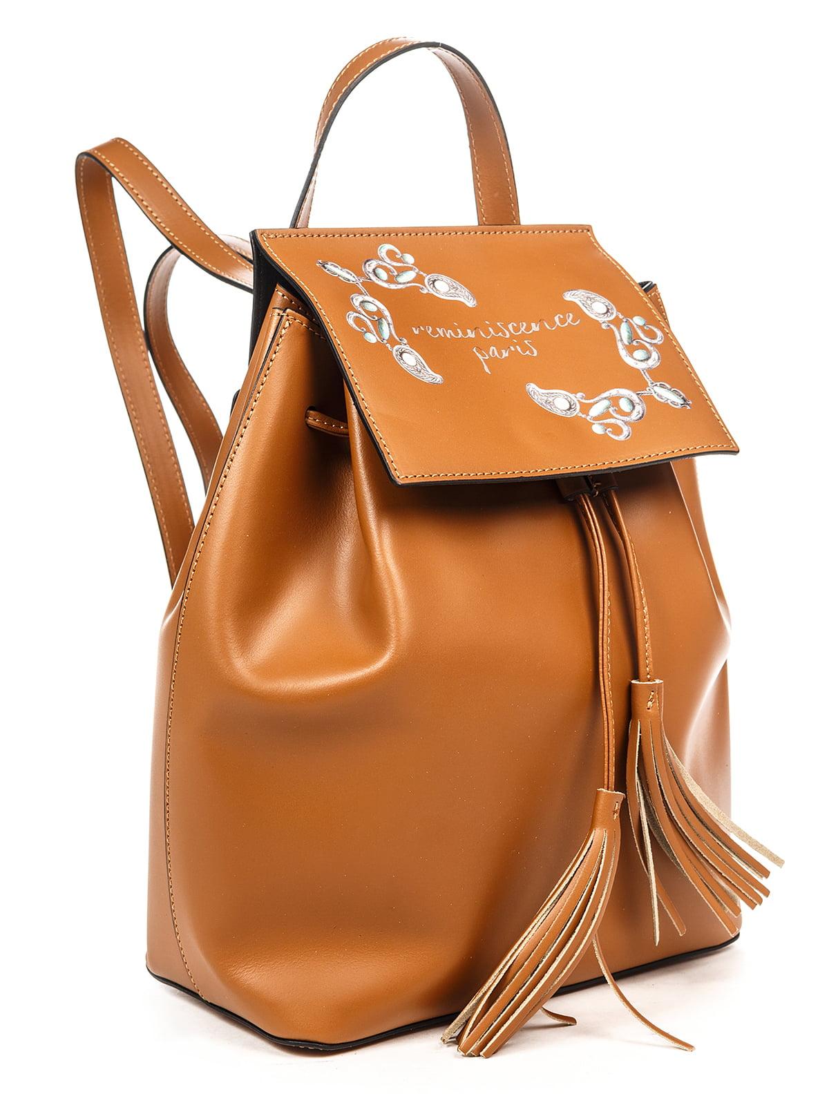 Рюкзак коньячного кольору | 4979545 | фото 3