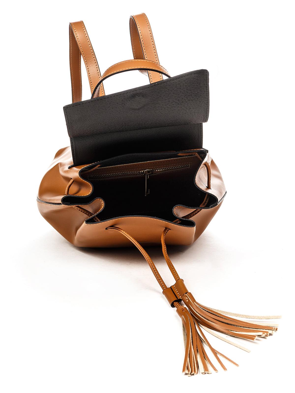 Рюкзак коньячного кольору | 4979545 | фото 4