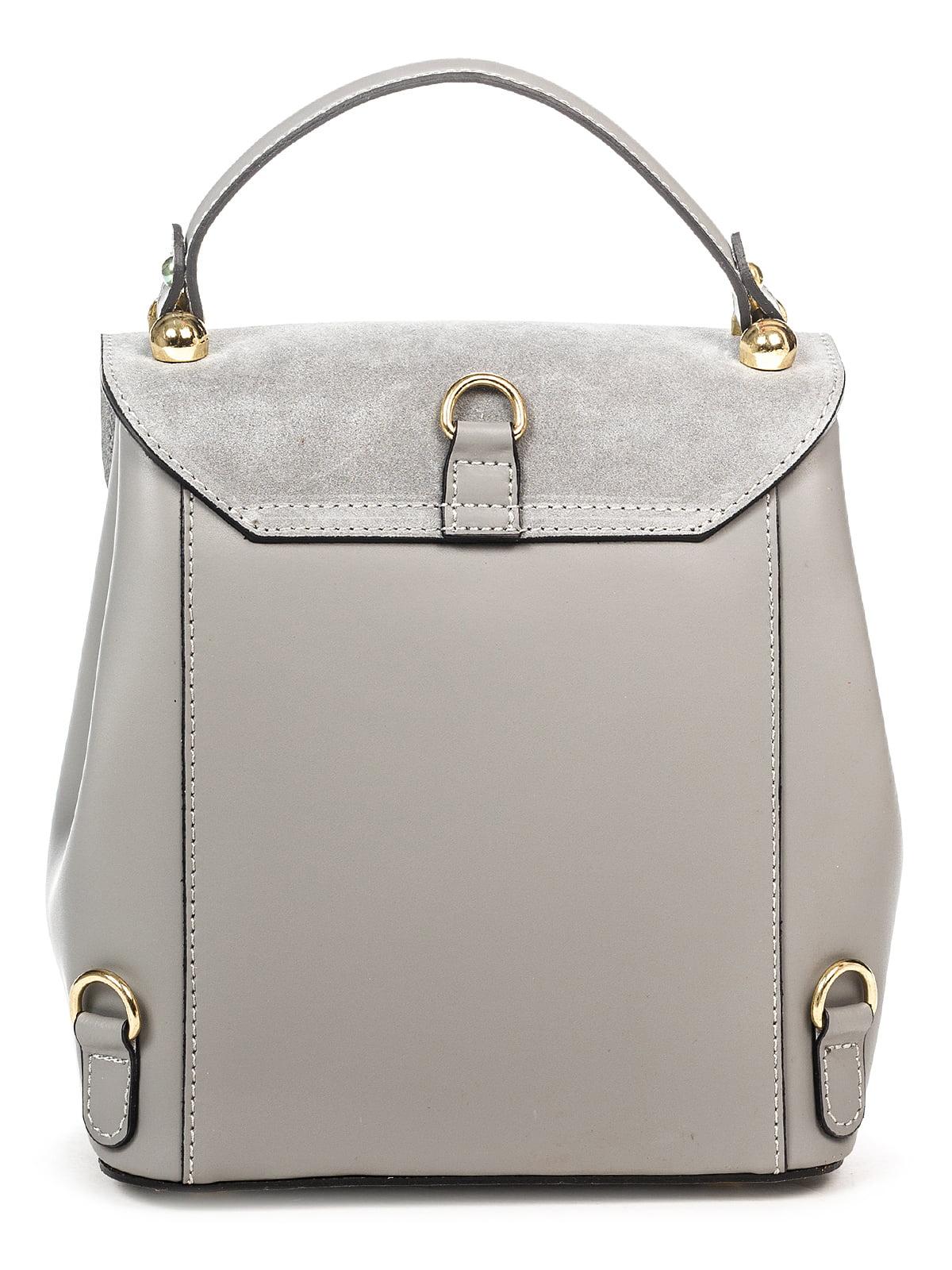Сумка-рюкзак сіра | 4979531 | фото 2