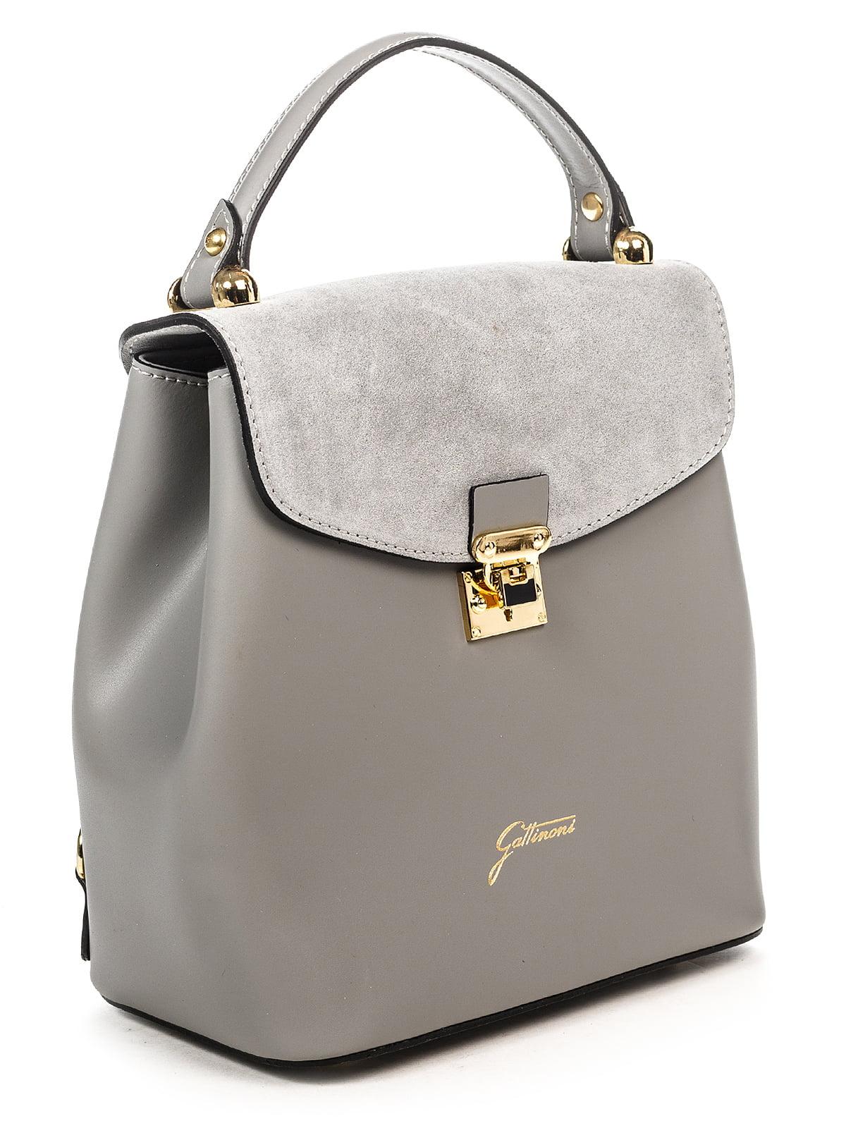 Сумка-рюкзак сіра | 4979531 | фото 3