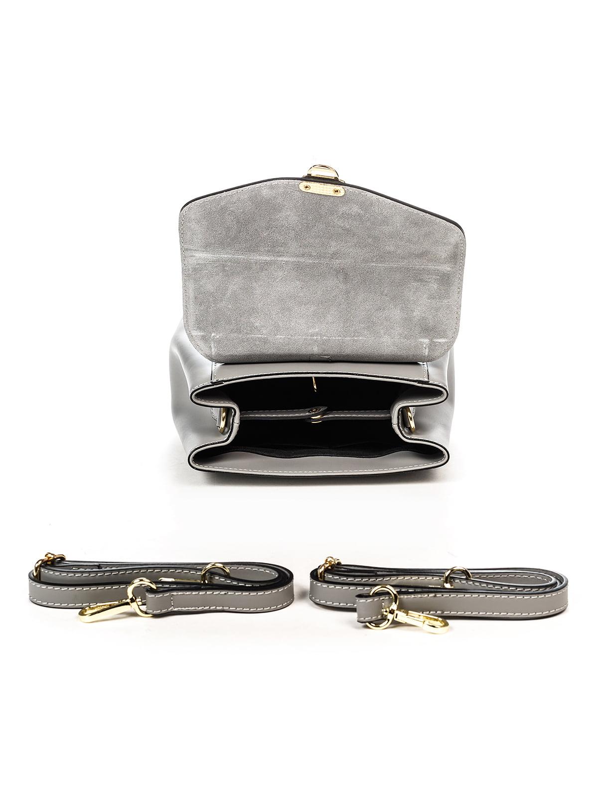 Сумка-рюкзак сіра | 4979531 | фото 4