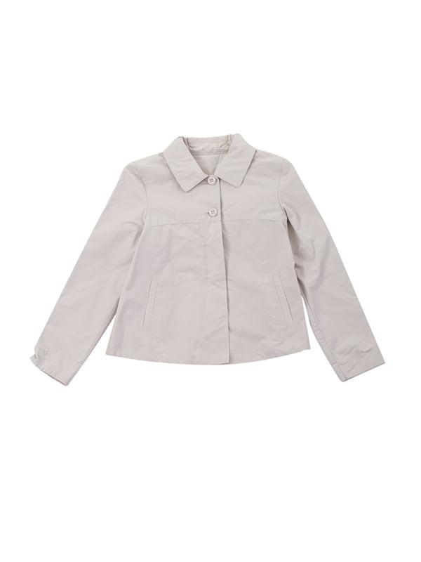 Куртка светло-серая | 4721823 | фото 4