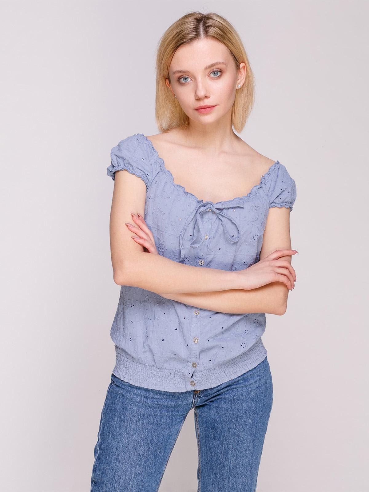 Блуза блакитна   4620249