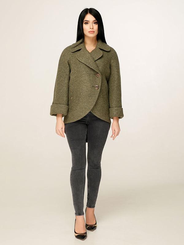 Пальто зелене | 4979849