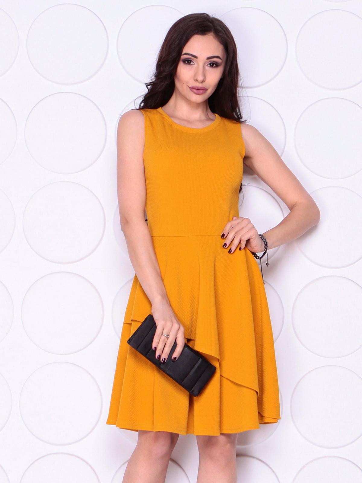 Сукня гірчичного кольору | 5010369