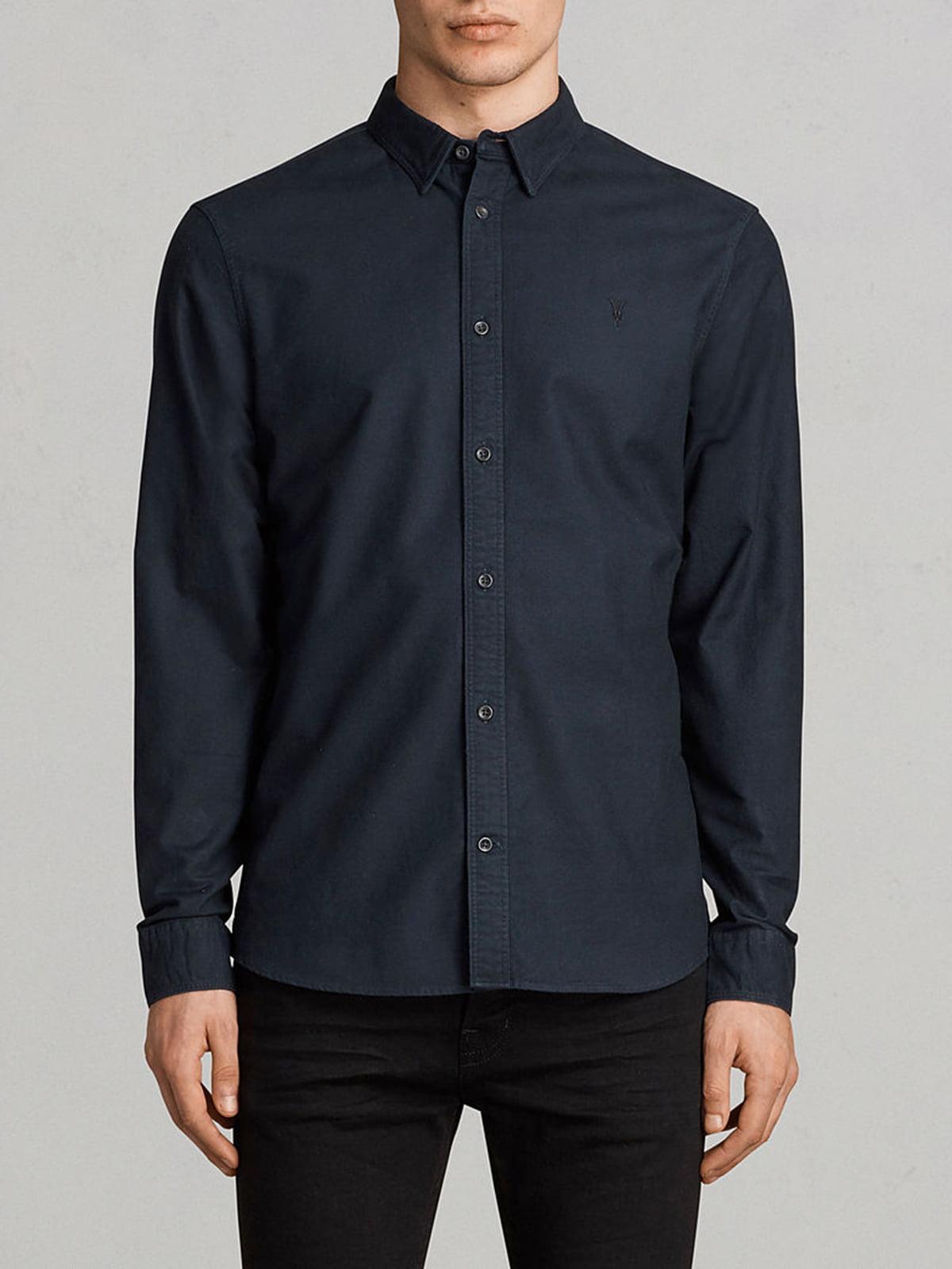 Рубашка темно-синяя | 5010807