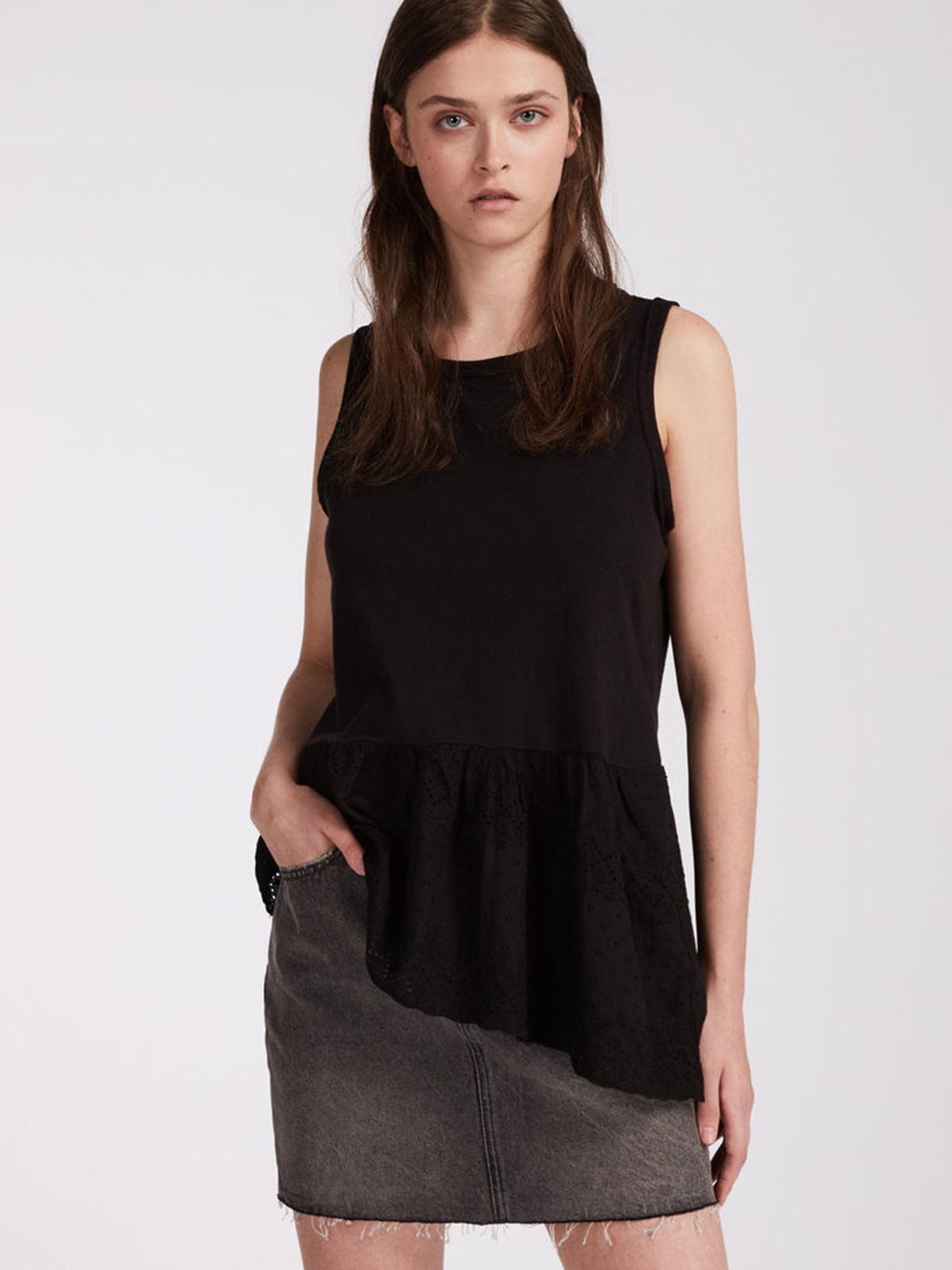 Блуза черная   5010996