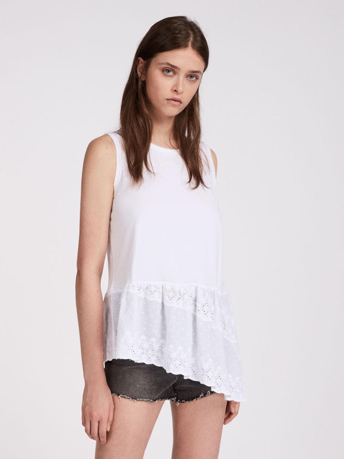 Блуза белая | 5010997