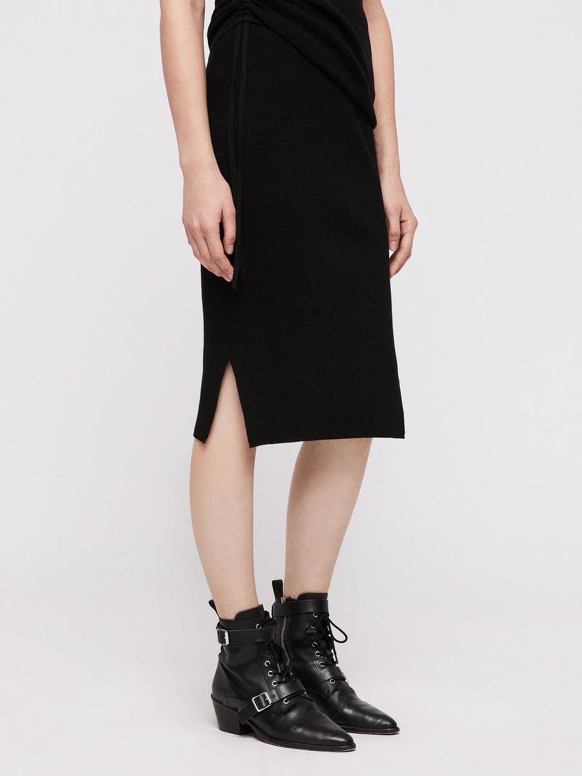Юбка черная | 5011019