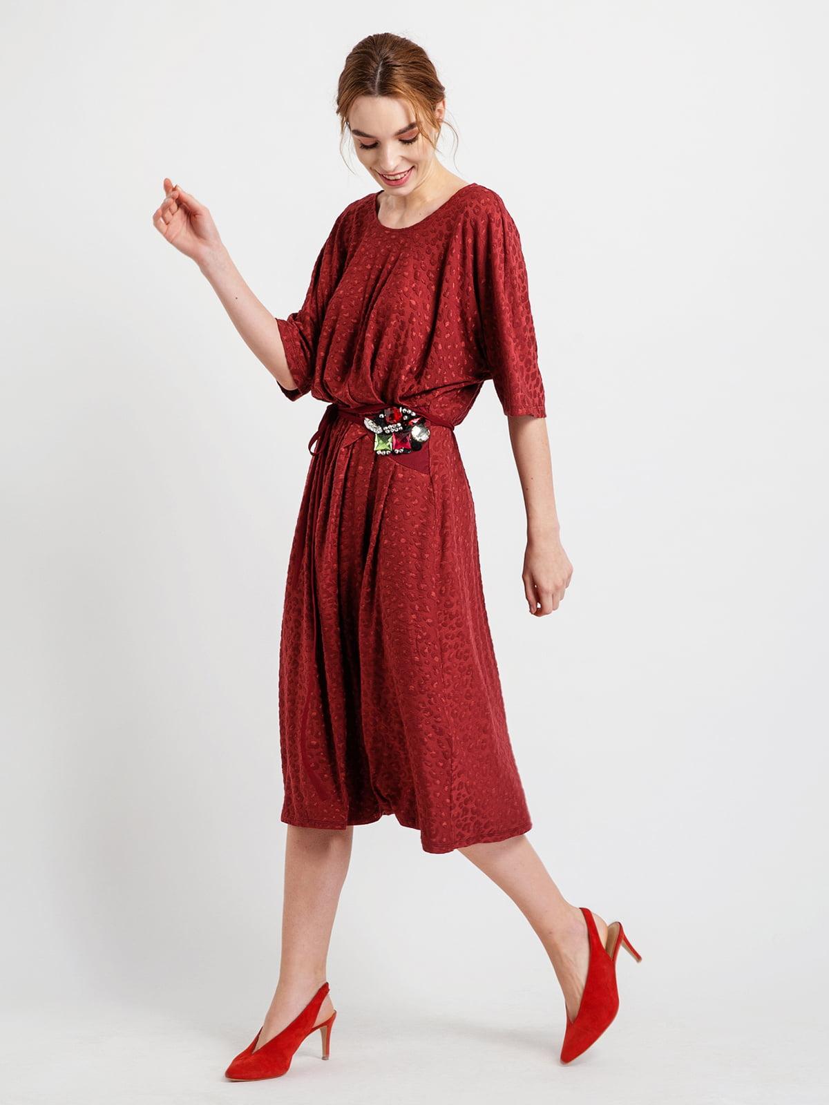 Сукня бордова | 4890617