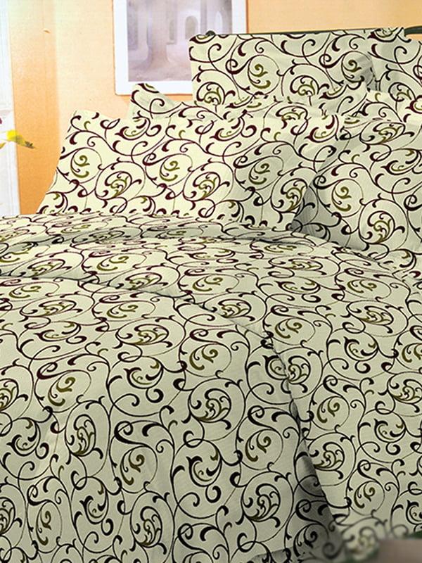 Комплект постільної білизни двоспальний (євро) | 3374579 | фото 4