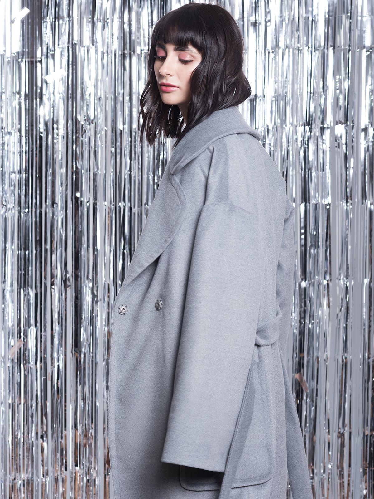 Пальто серое | 5014607