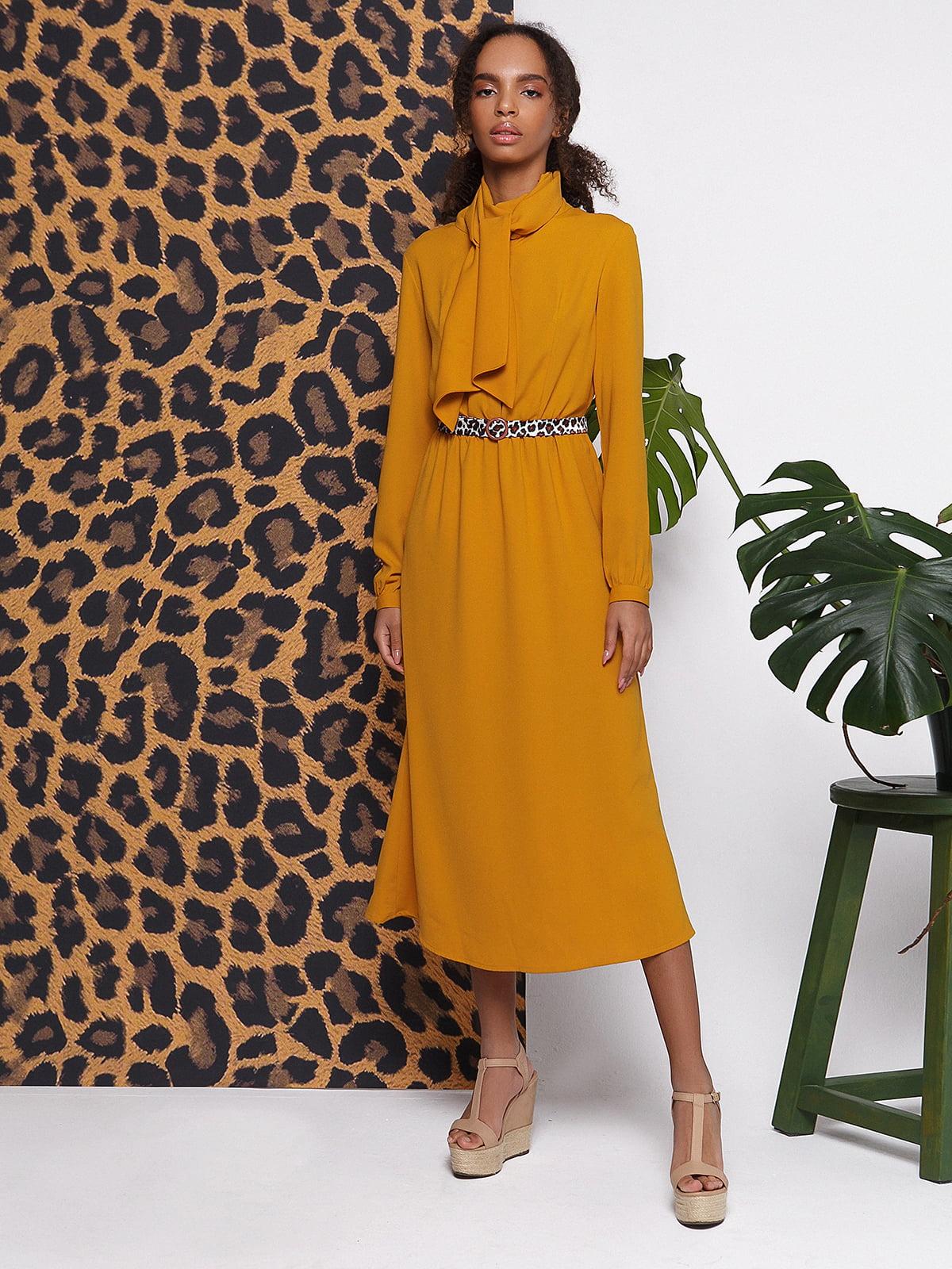 Сукня гірчичного кольору | 5014566