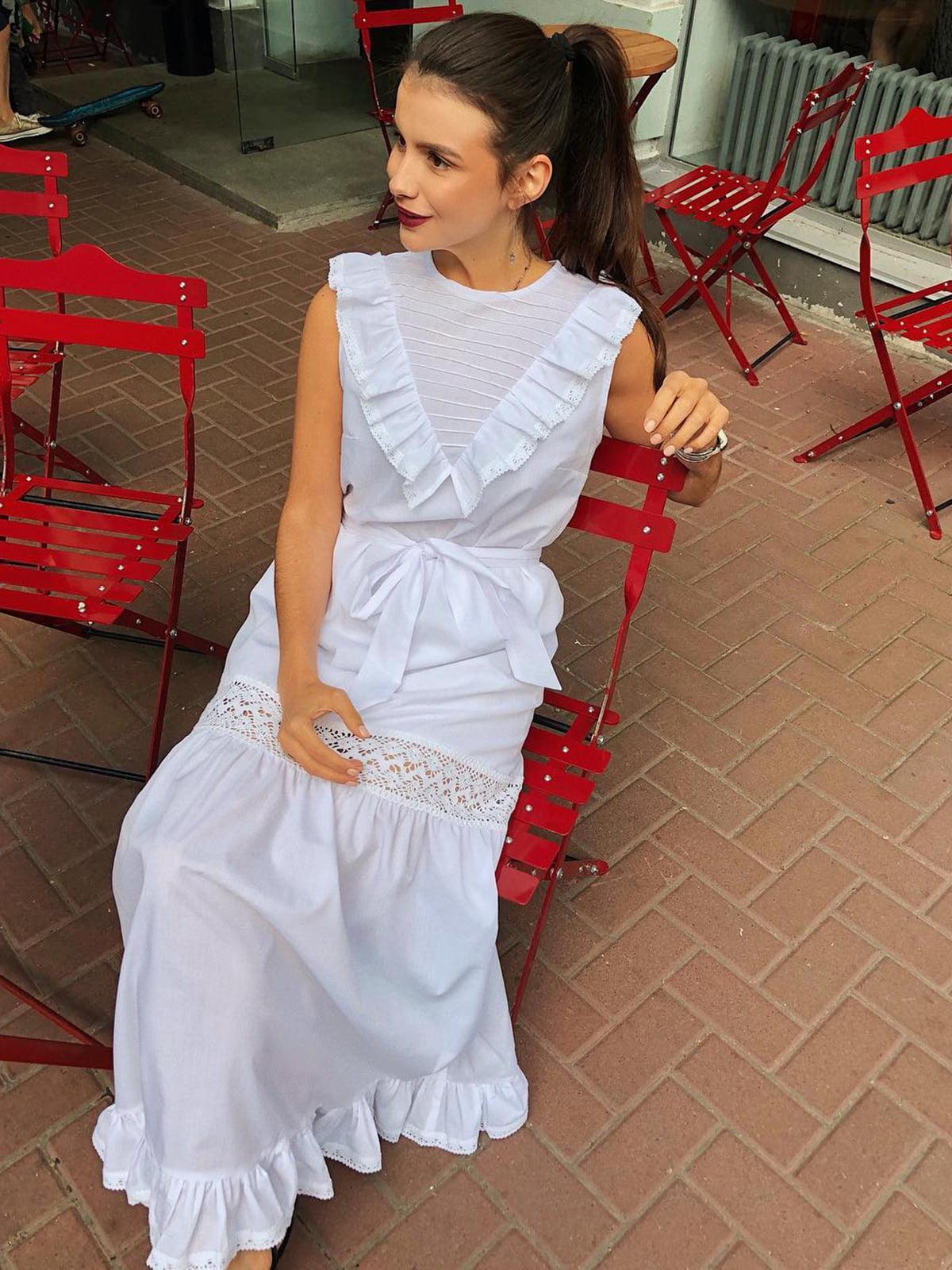 Платье белое | 5014504