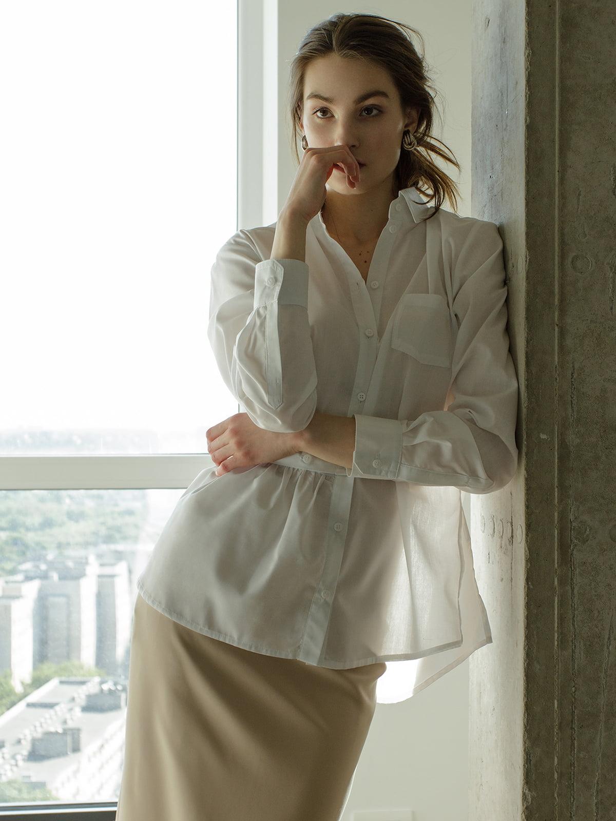 Рубашка белая | 5014776