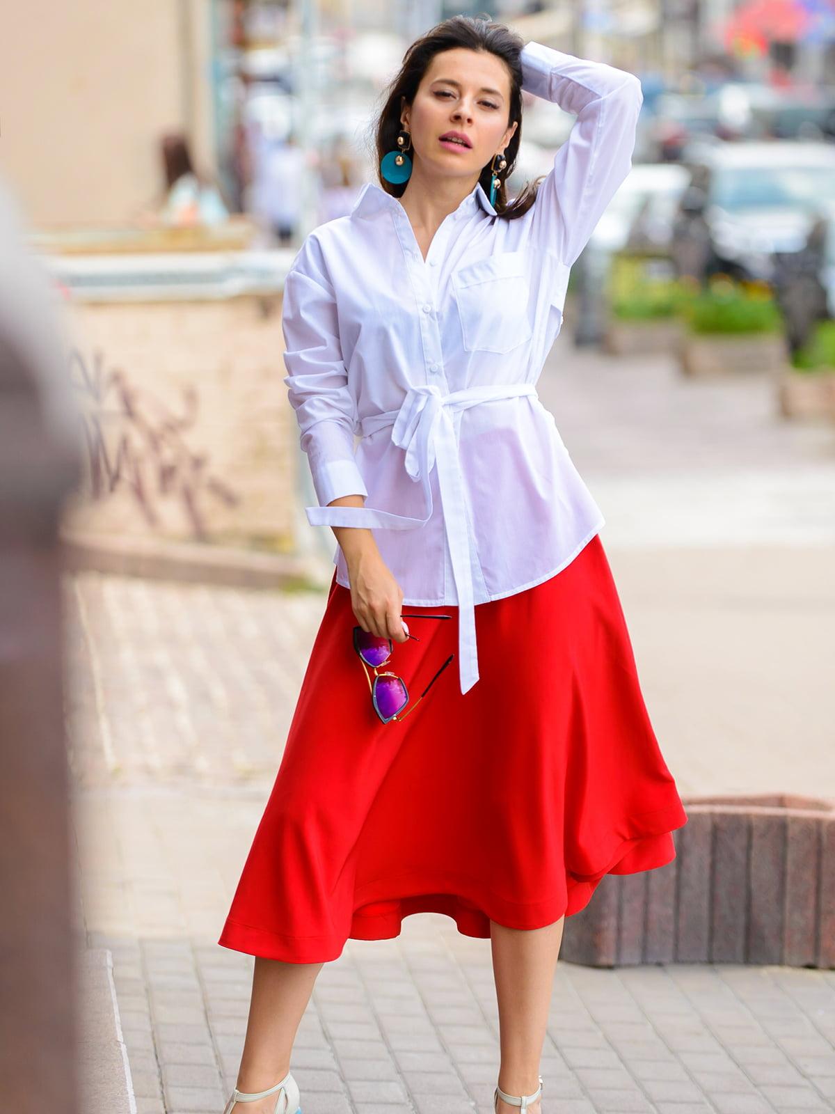 Рубашка белая | 5014782