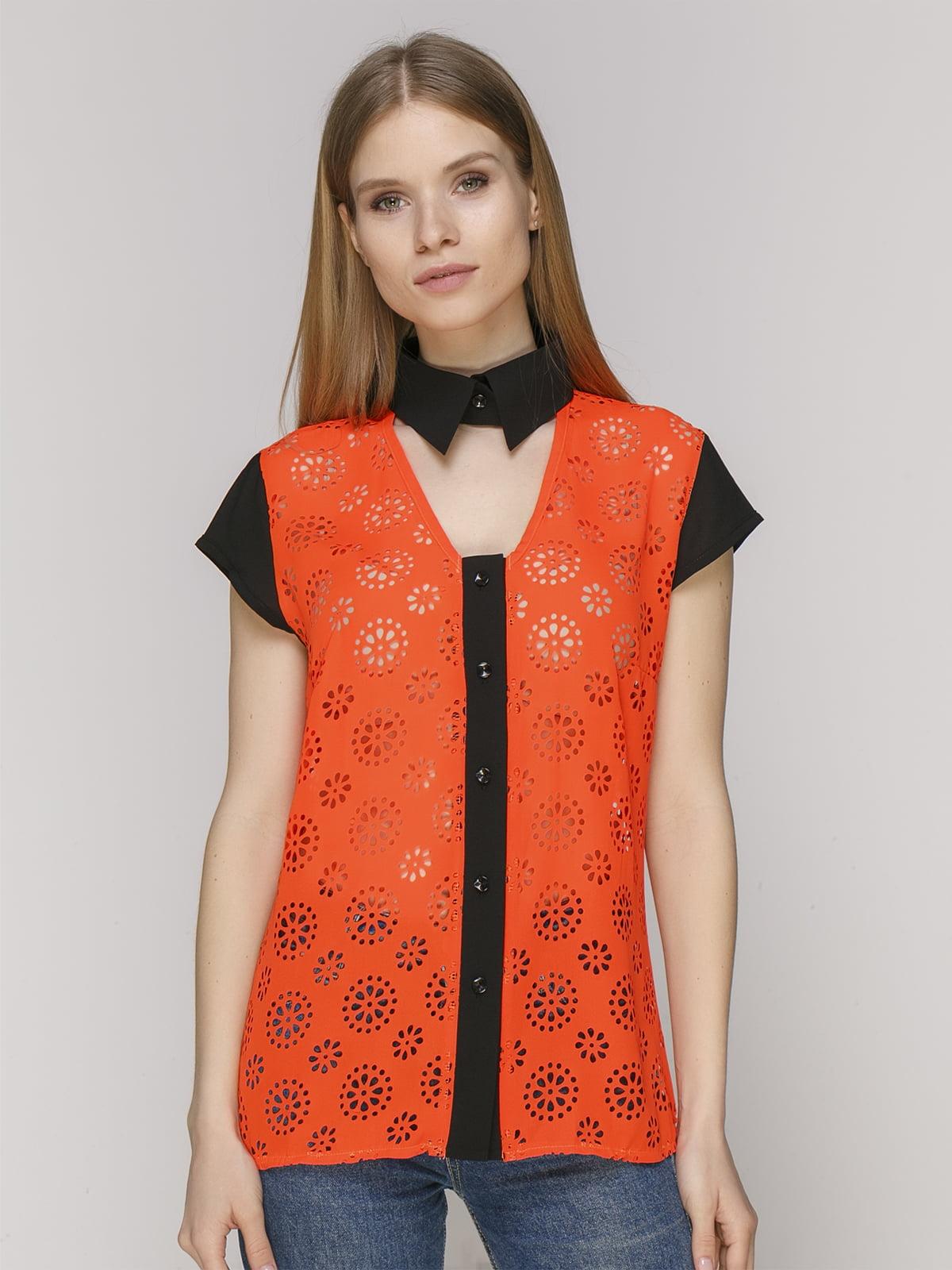 Блуза оранжевая | 5015256
