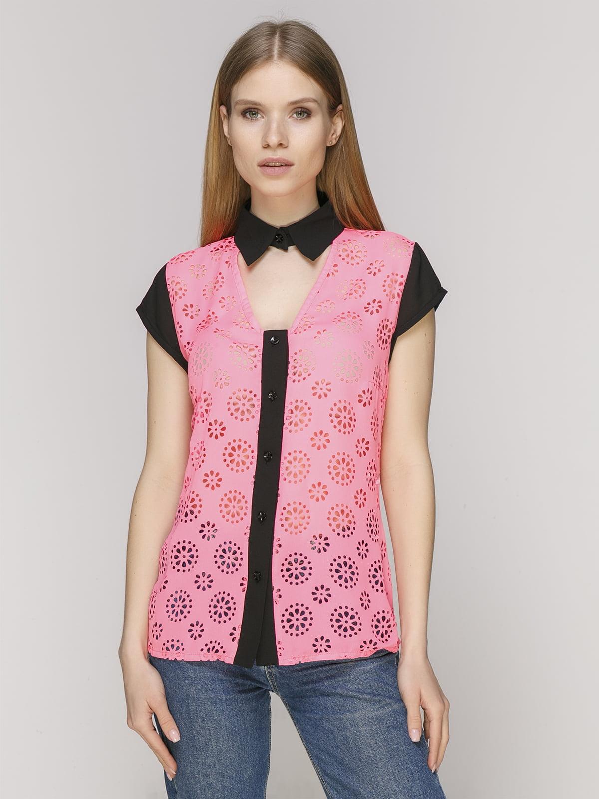 Блуза рожева | 5015257