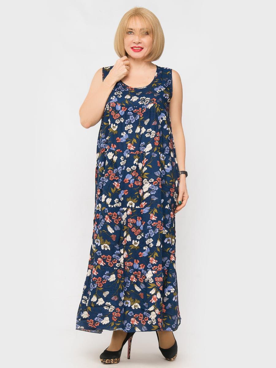 Платье в цветочный принт   4962325   фото 2