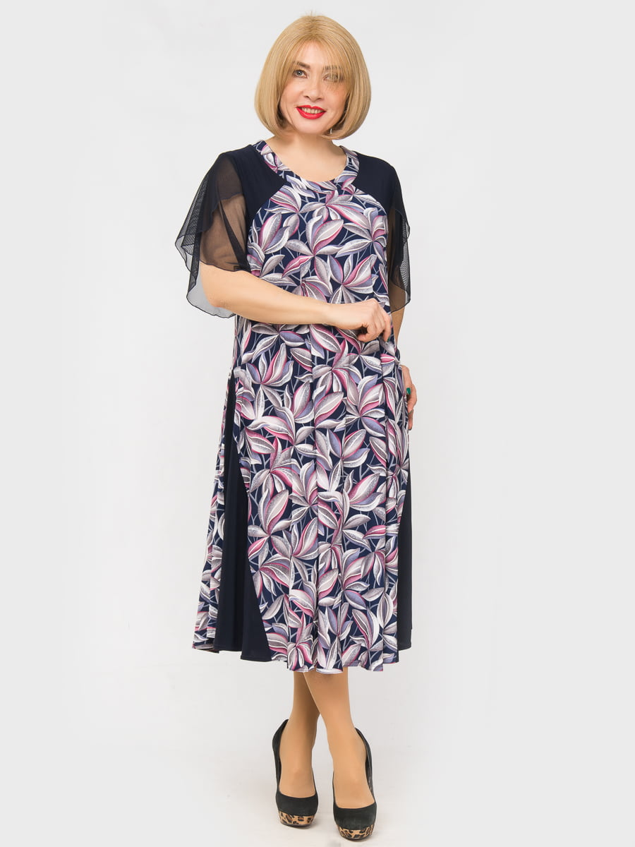 Платье в принт | 5027217