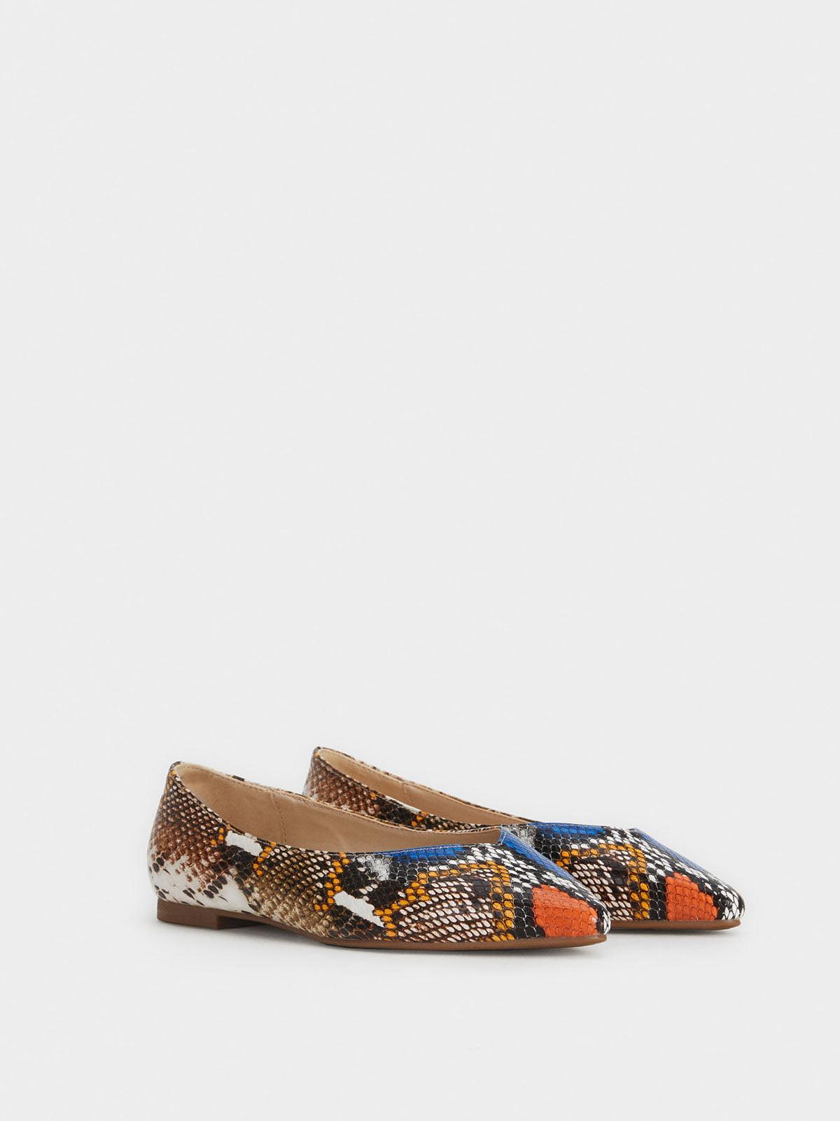 Туфли анималистической расцветки   4980862