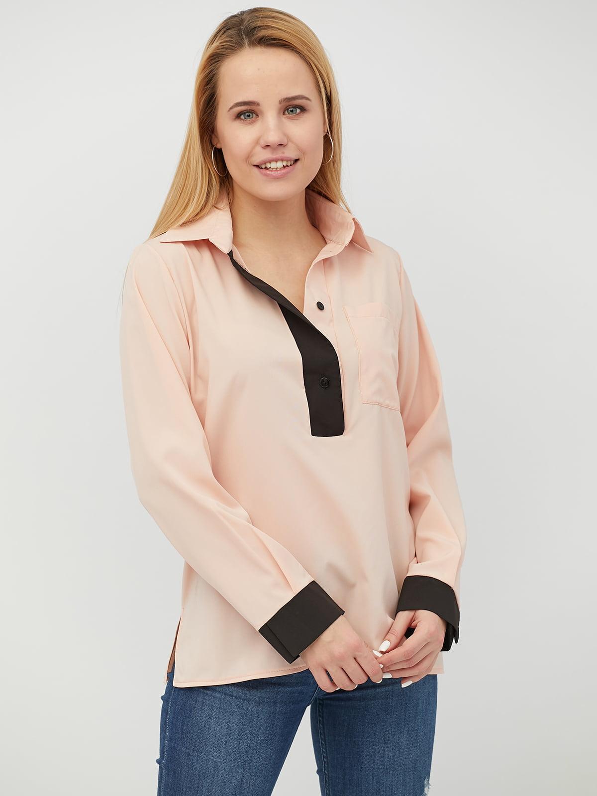 Блуза персикового цвета | 5029406