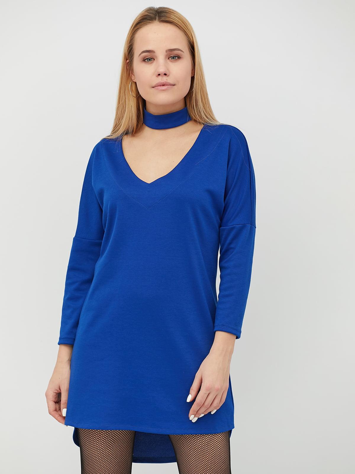 Платье цвета электрик | 5029409